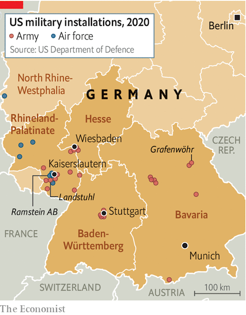 US Military Installations in Germany