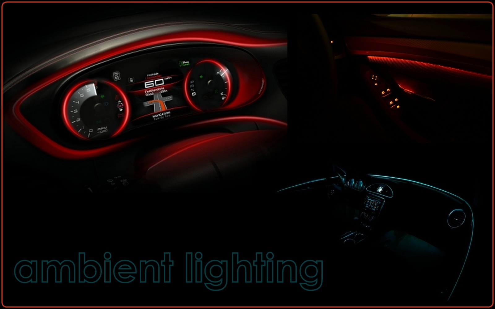 Innovative Interior Lighting Creates Style And Ambience That Car