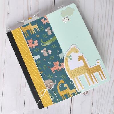 Baby Boy Mini Album Kit by Wendy Sue Anderson for Button Farm Kit Club