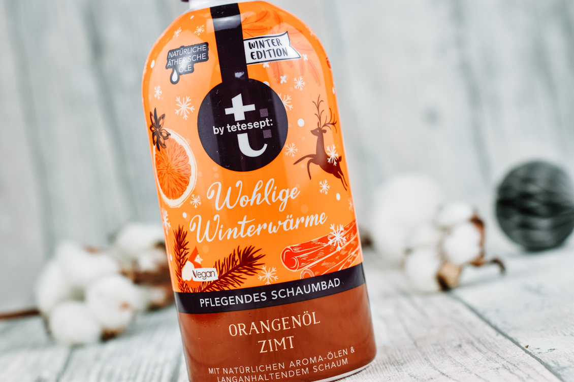 Beauty News beautypress News Box Dezember 2019 - t: by tetesept - Wohlige Winterwärme Pflegendes Schaumbad