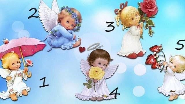 Выберите ангела и получите его сообщение