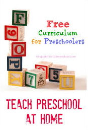 Free Homeschooling Materials for Preschoolers and Kindergarten Level