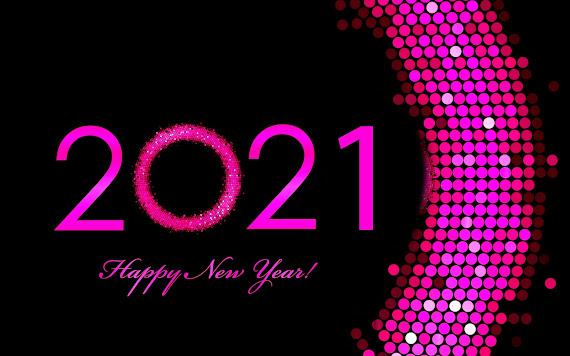 Happy New Year 2021 download besplatne pozadine za desktop 2560x1600 slike ecards čestitke Sretna Nova godina