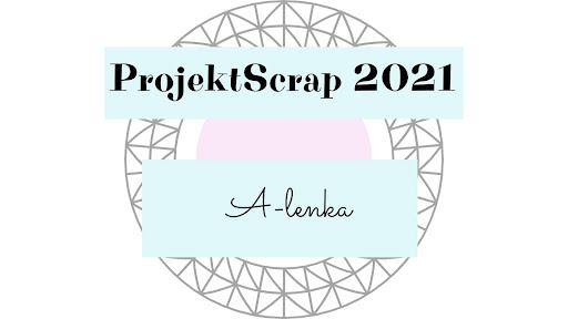 Projektowałam na blogu ProjektScrap