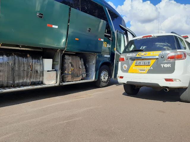 Carga de produtos do Paraguai sem documentação fiscal é apreendida pela Policia Militar Rodoviaria