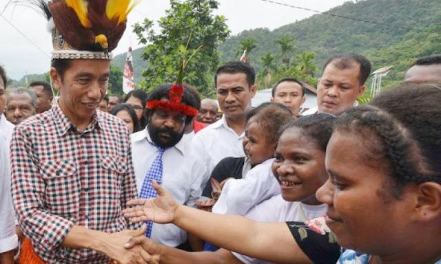 Jokowi, Bapak Orang Papua