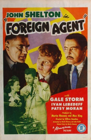 Foreign Agent 1942 movieloversreviews.filminspector.com poster