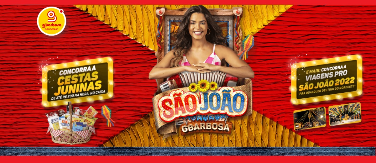 Promoção São João 2021 GBarbosa