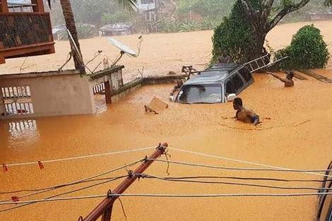 المغرب يرسل مساعدة إنسانية عاجلة إلى سيراليون