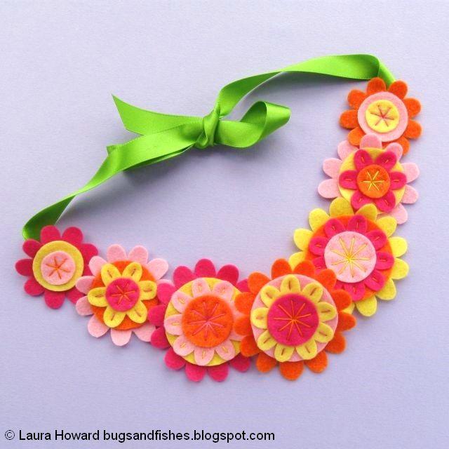 Felt Flower Crown Sewing Tutorial