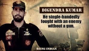 Digendra kumar, best commando of indian army
