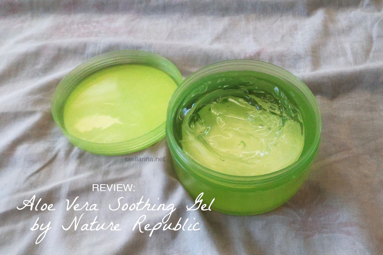 REVIEW: Aloe Vera Soothing Gel by Nature Republic | Raellarina ...