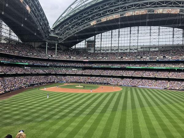 Baseball Stadion der Milwaukee Brewers