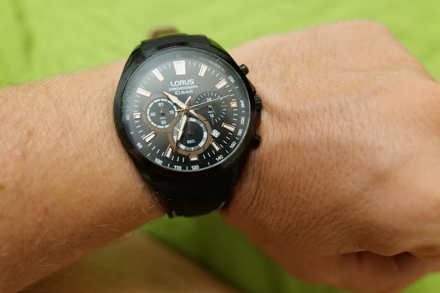 Lorus RT383HX9 chronograph watch after six months