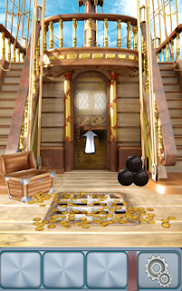 Ищем ключ и открываем двери на 2 уровне