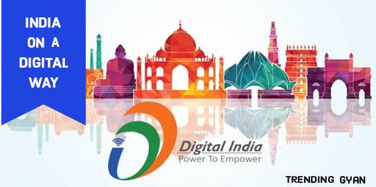 India on Digital Way | Trending Gyan