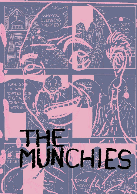 The Munchies! (a short horror comic)