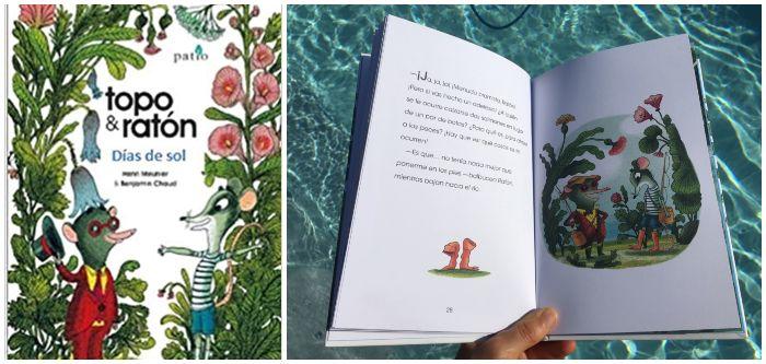 Libro infantil Topo y Ratón Días de sol