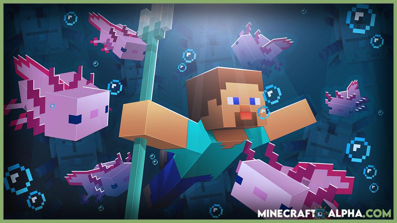 Minecraft Axolotls Usage Areas