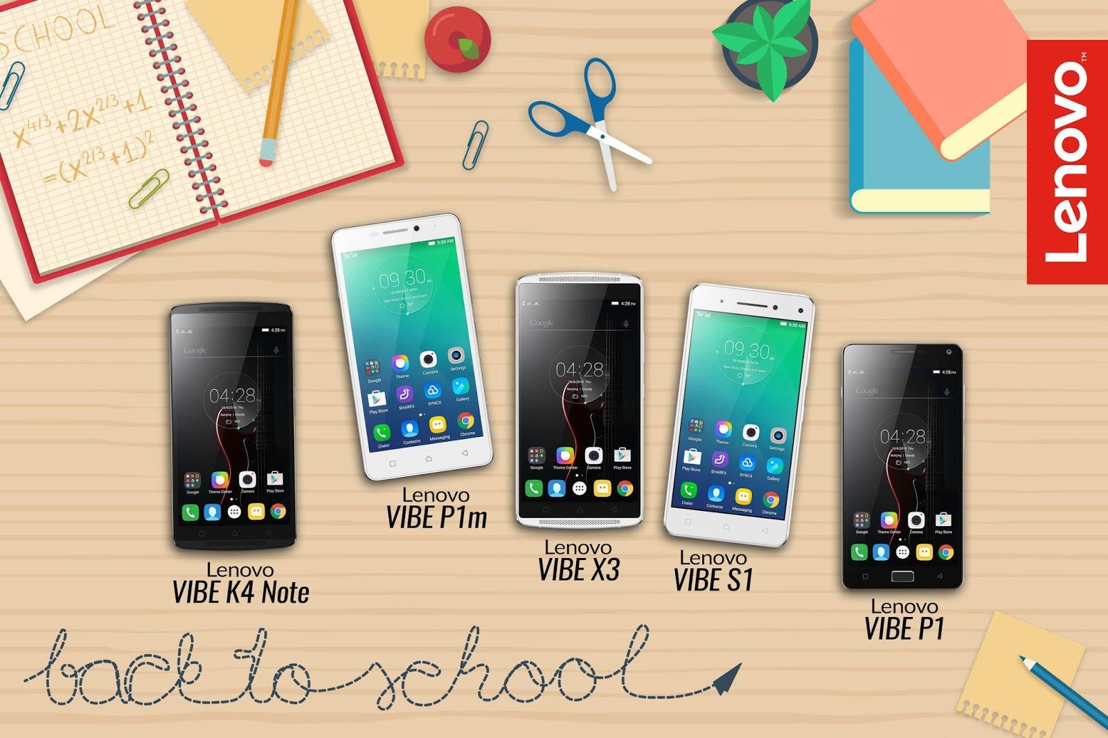 Lenovo's Best-for-School Smartphones