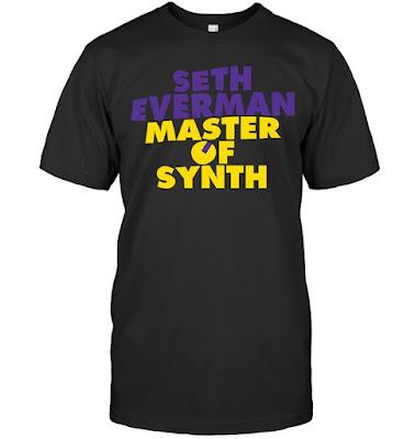 Seth Everman Master Of Synth T Shirts