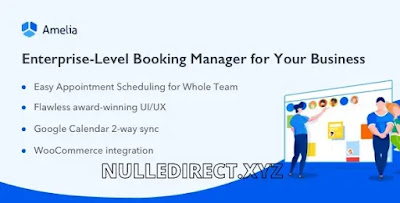 Amelia 3.1Nulled - Enterprise-Level Appointment Booking WordPress Plugin