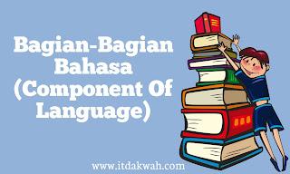 Componen bahasa inggris (component of language)