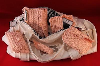 Haakptroon en tutorial accessoires voor vrouwen handtas | gratis !