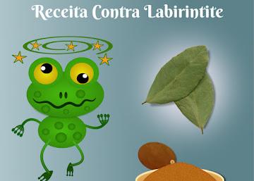 Receita Contra Labirintite: Chá de Louro com Noz-Moscada
