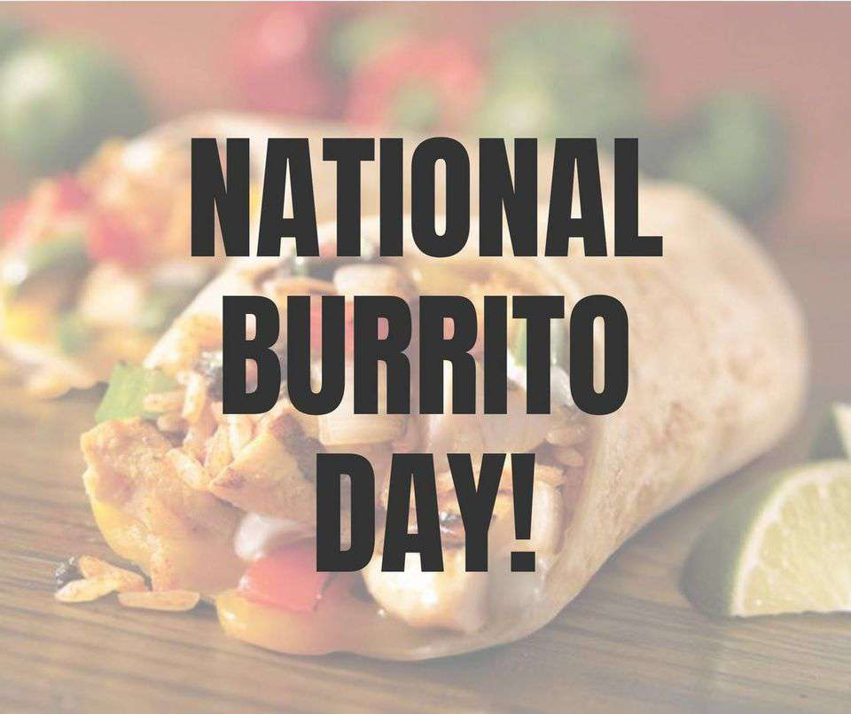 National Burrito Day Wishes Images download