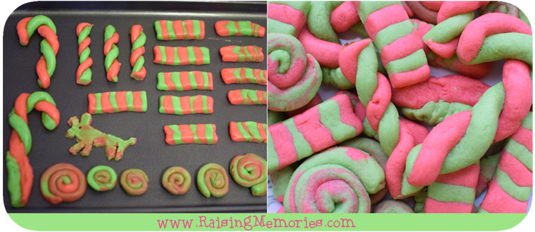 How to Make Play Doh Cookies by www.RaisingMemories.com