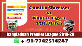 Who will win Today BPL T20, 37th Match Khuna vs Cumilla - Cricfrog