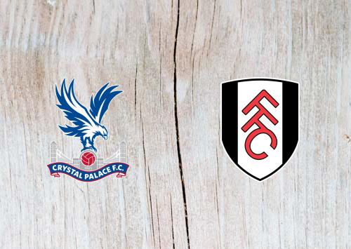 Crystal Palace vs Fulham - Highlights 2 February 2019