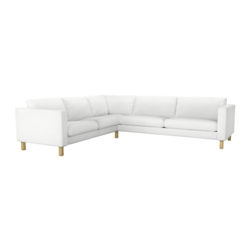 Ikea Karlstad Corner Sofa: Sunshine On The Inside: Brand New Basement Seating