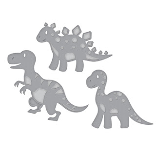 DINOSAURS Etched Dies