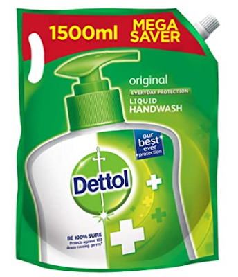 Dettol Original Germ Protection Hand wash Liquid Soap Refill 1500ml