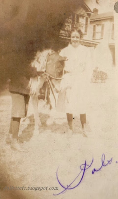 Photo in collection from Helen Killeen Parker about 1919