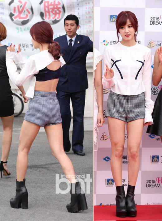 Fashion Apink At The Red Carpet Of Kyeongju Dream Concert Daily
