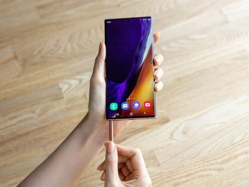 Galaxy S21 and Galaxy Z Fold 3 support the S Pen