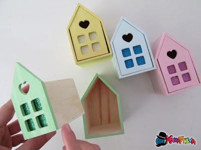 cassette di legno come dipingerle