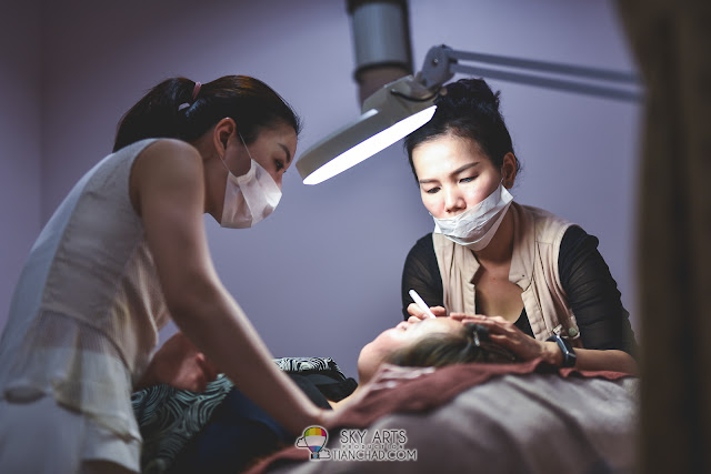 【Professional Contour & Eyebrow Embroidery Course】 by Ivy Brow Design in Malaysia