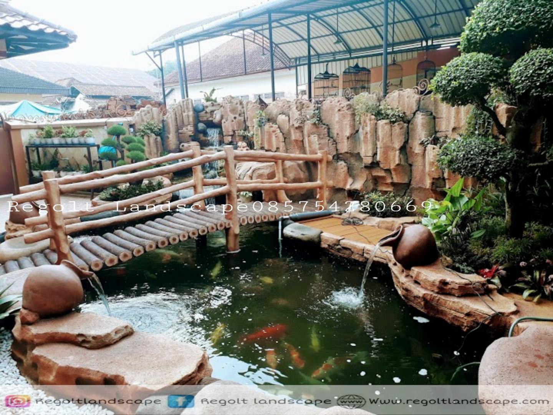 Jasa Pembuatan Kolam Ikan Koi Minimalis Di Pontianak