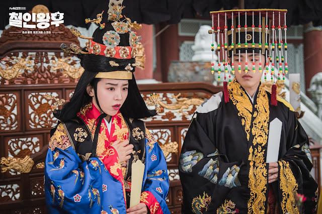 《哲仁王后》首播收視成績亮眼,第二集收視成績持續上升,挑戰2020年tvN收視第三名
