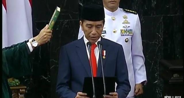 Singgung soal Keadilan, Refly Ingatkan Sumpah Jokowi saat Dilantik: Bukan Presiden Relawan