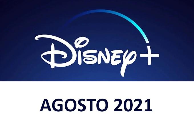 Novedades y Estrenos de Disney+ España Agosto 2021
