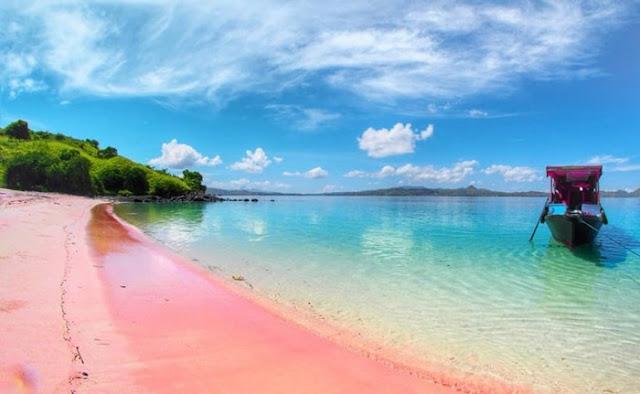 Pantai Tangsi / Pantai Pink Lombok