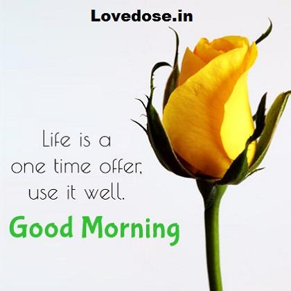 good morning impress message