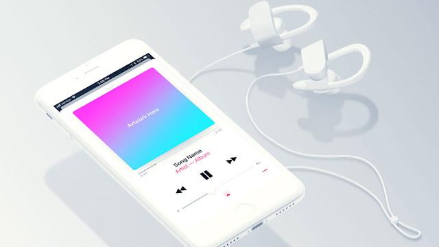 Free Spotify & Apple Music Mockup