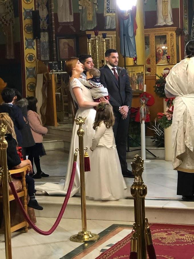 Παντρεύτηκε και βάπτισε τον γιό του ο Λευτέρης Ακεψιμαϊδης της Ευρώπης Πευκοχωρίου
