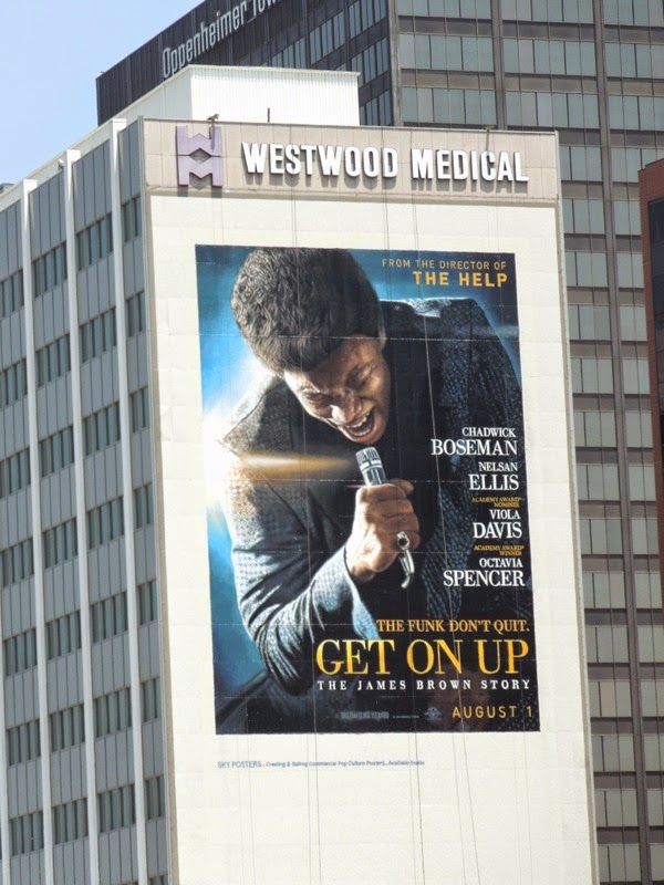 Giant Get On Up movie billboard